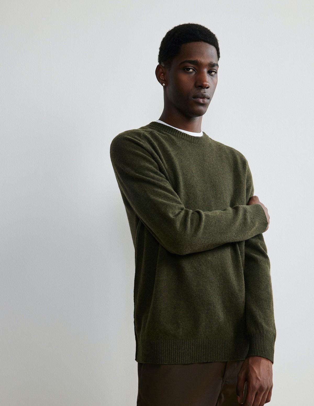 Nn07 Edward Sweater - 315 ARMY