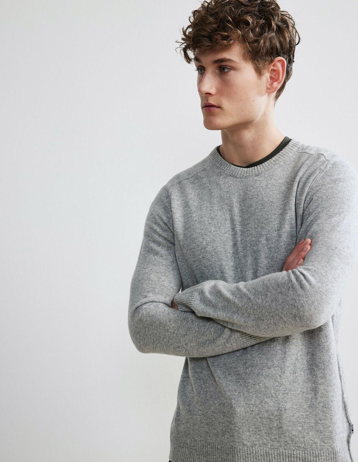 Nn07 Edward Sweater - 904 GREY MELANGE
