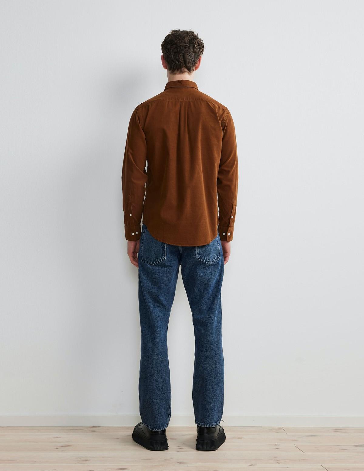 Nn07 Levon Corduroy Shirt