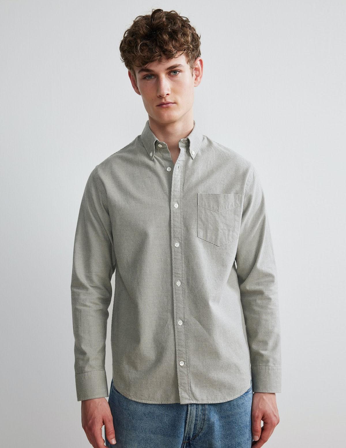 Nn07 Levon 5983 Shirt - 795 GRIS