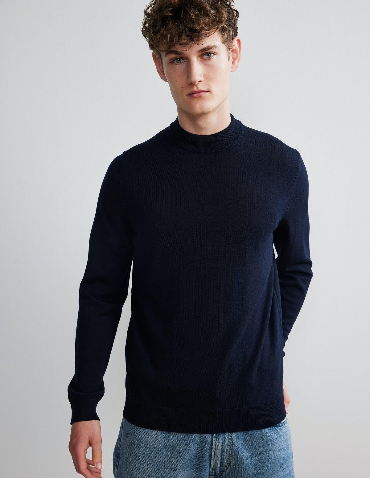 Nn07 Martin Merino Sweater - 200 NAVY