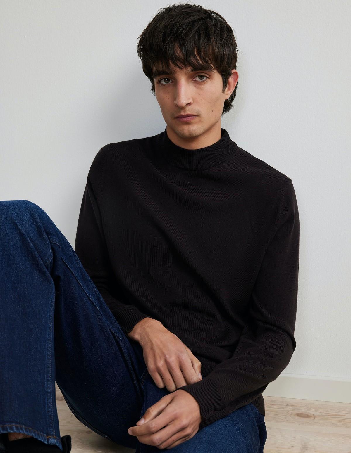 Nn07 Martin Merino Sweater - 558 DARK WINE
