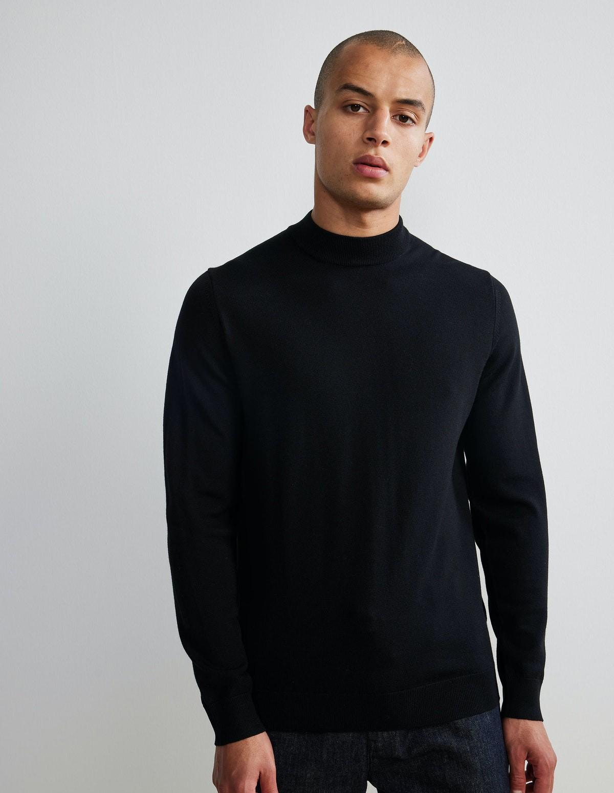 Nn07 Martin Merino Sweater - 999 BLACK