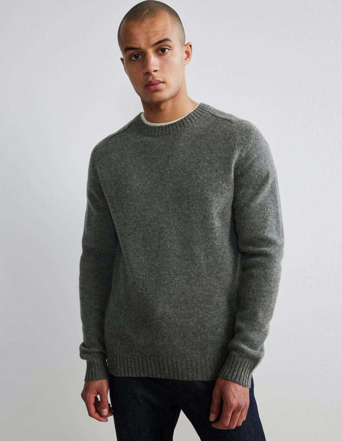 Nn07 Nathan Sweater - 106 CLAY
