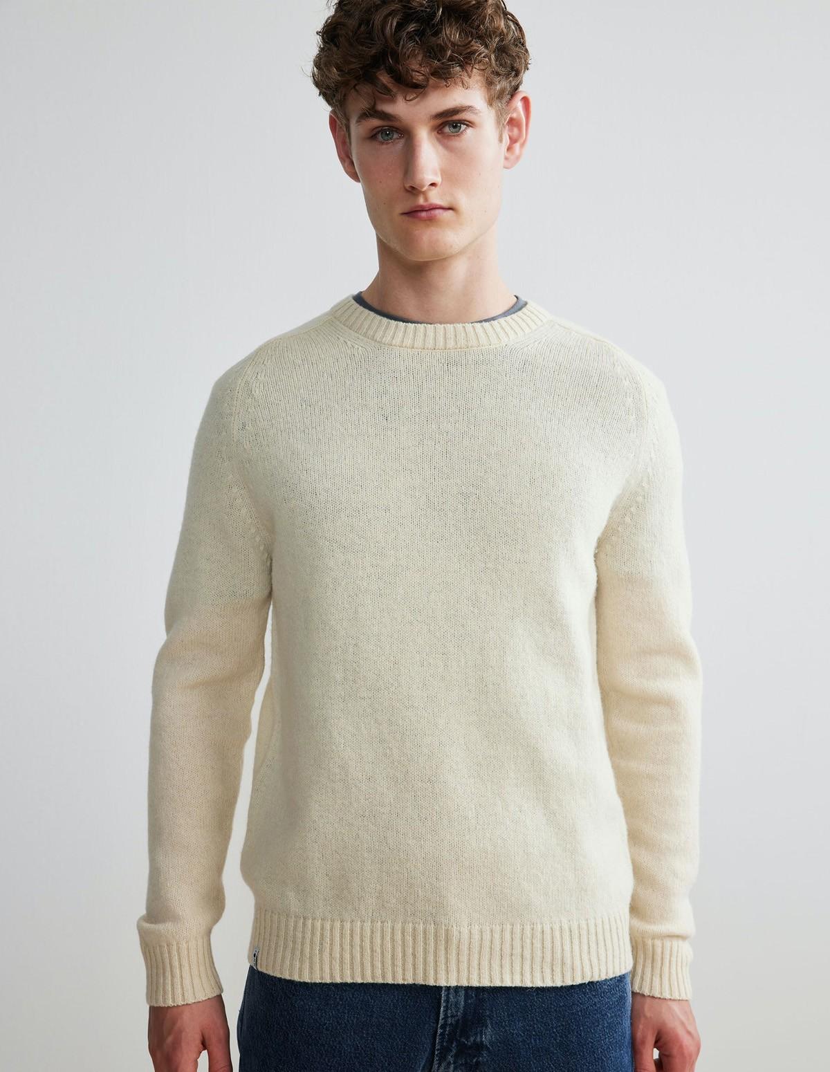 Nn07 Nathan Sweater - 020 ECRU