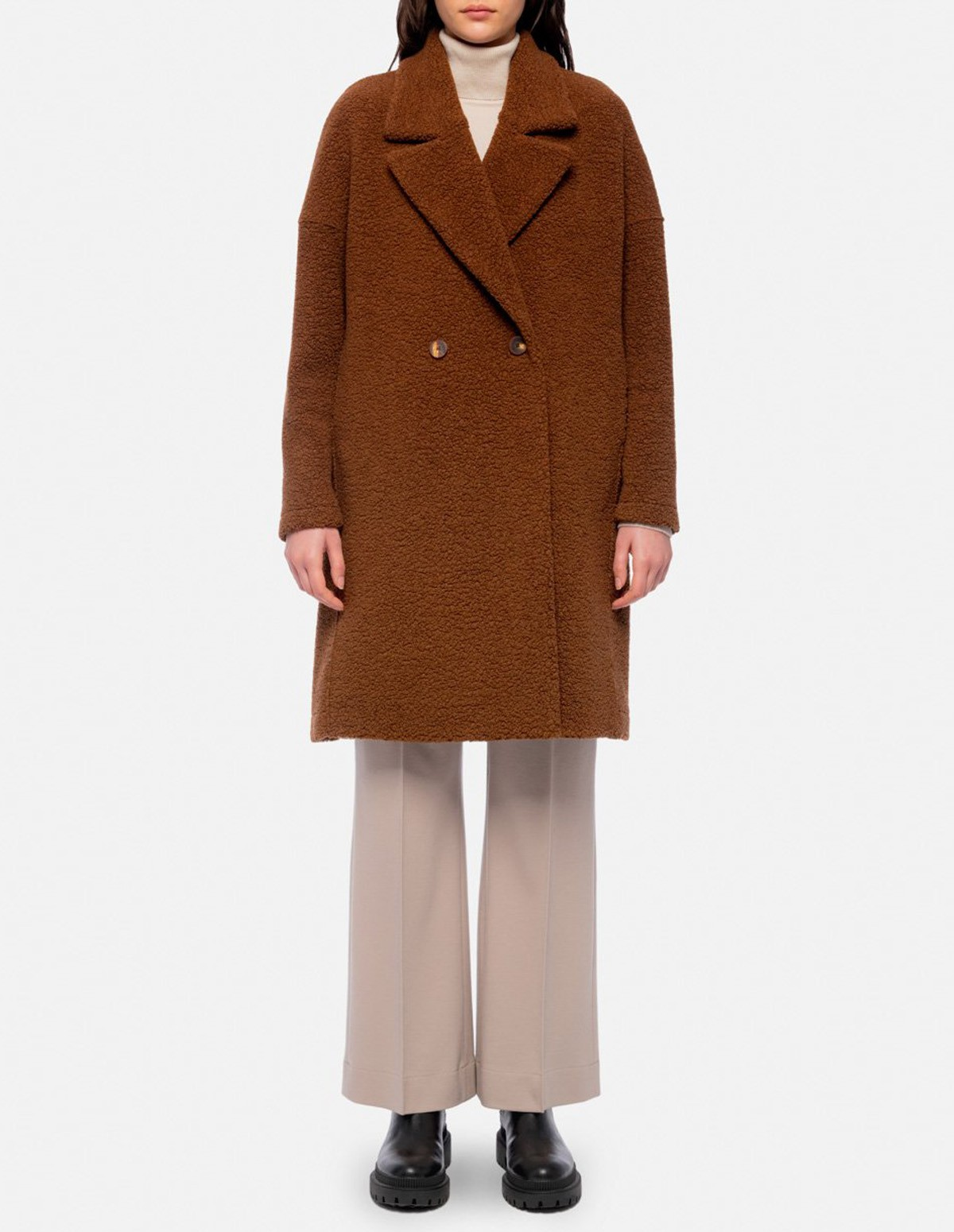Hwl W. Oversize Fitted - CARAMEL