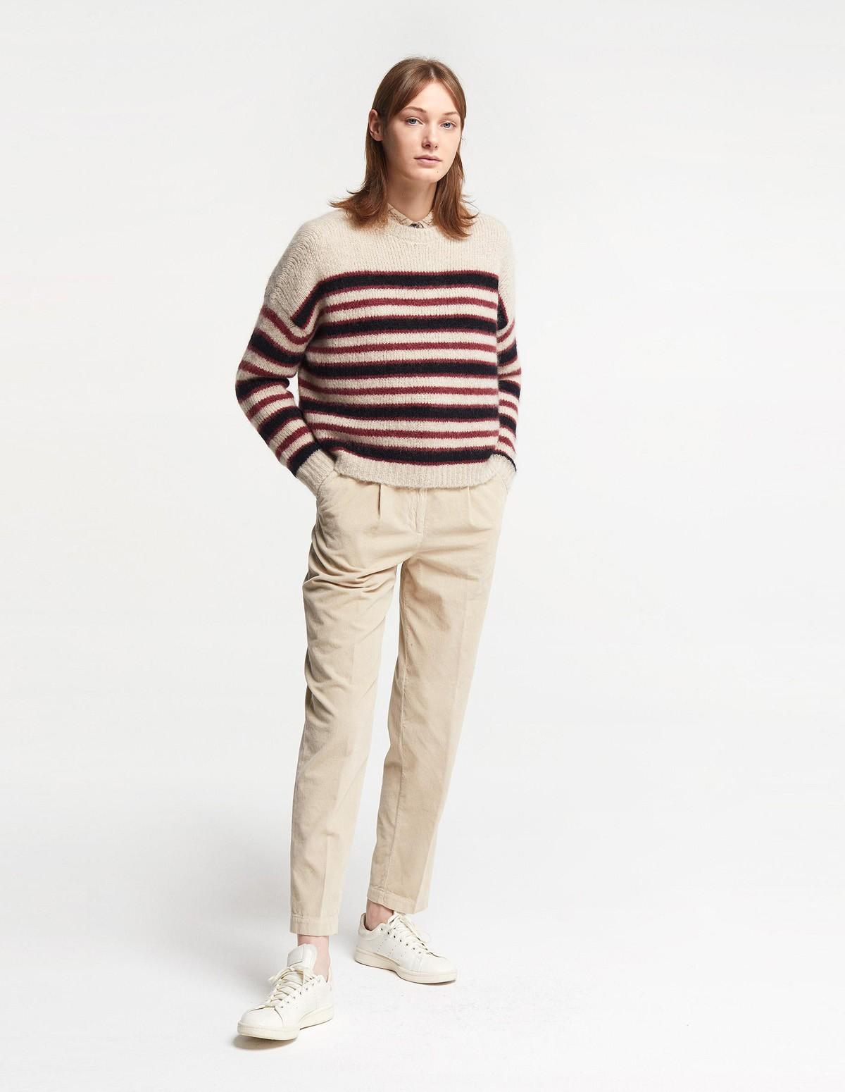 Pom 7163/10563 Pants - CHAMPAGNE
