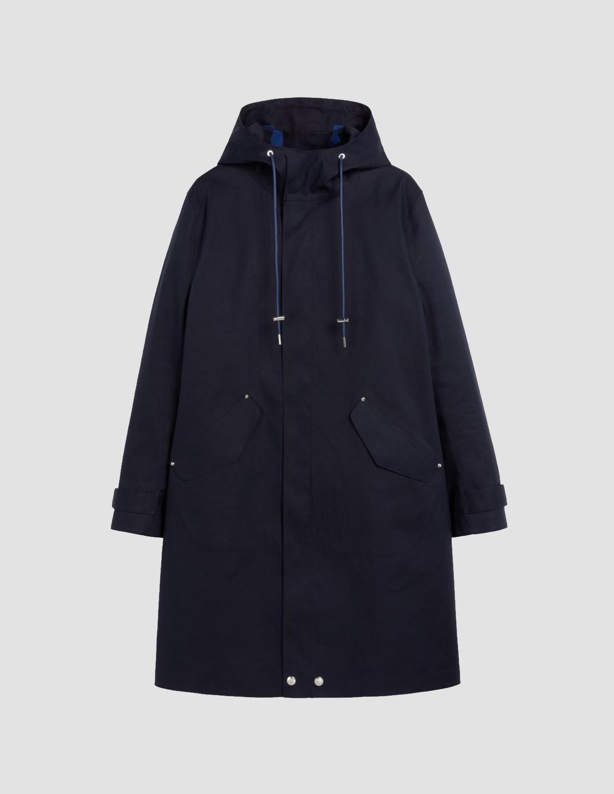 Mac Granish Coat - NAVY