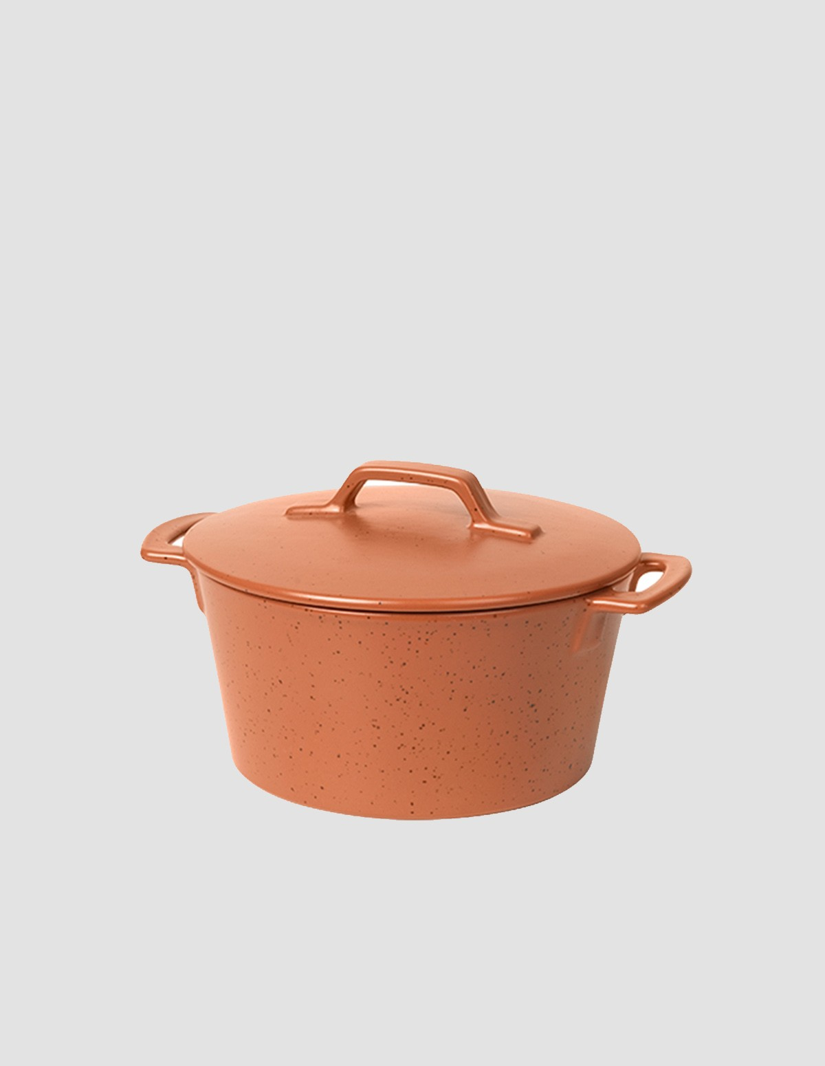 Bc Plat Four Couvercle Hasle - RED GRANITE