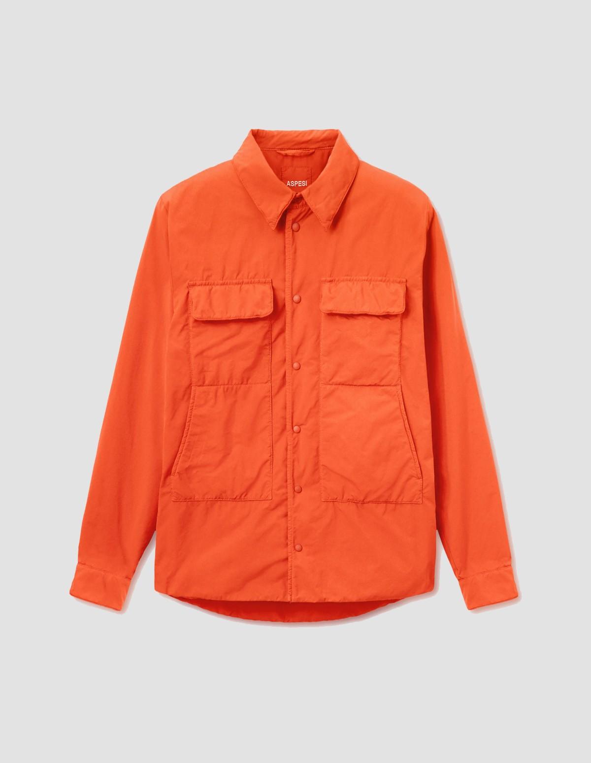 Aspesi Xenon Overshirt - ORANGE