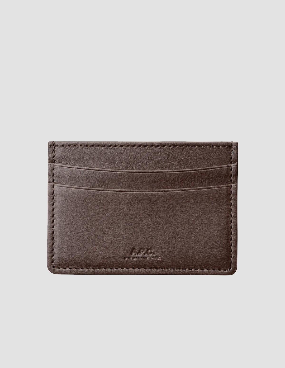 Apc H63028 Porte Cartes Andre - CHOCOLAT