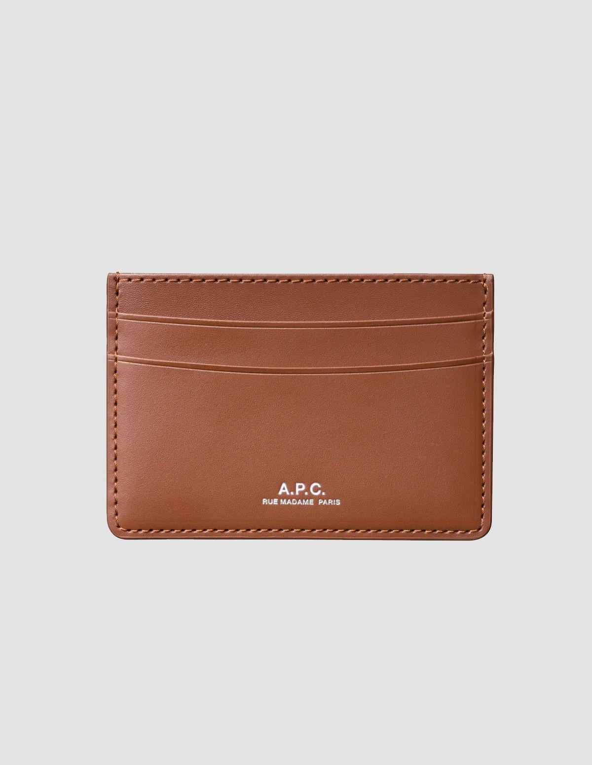 Apc H63028 Porte Cartes Andre - NOISETTE