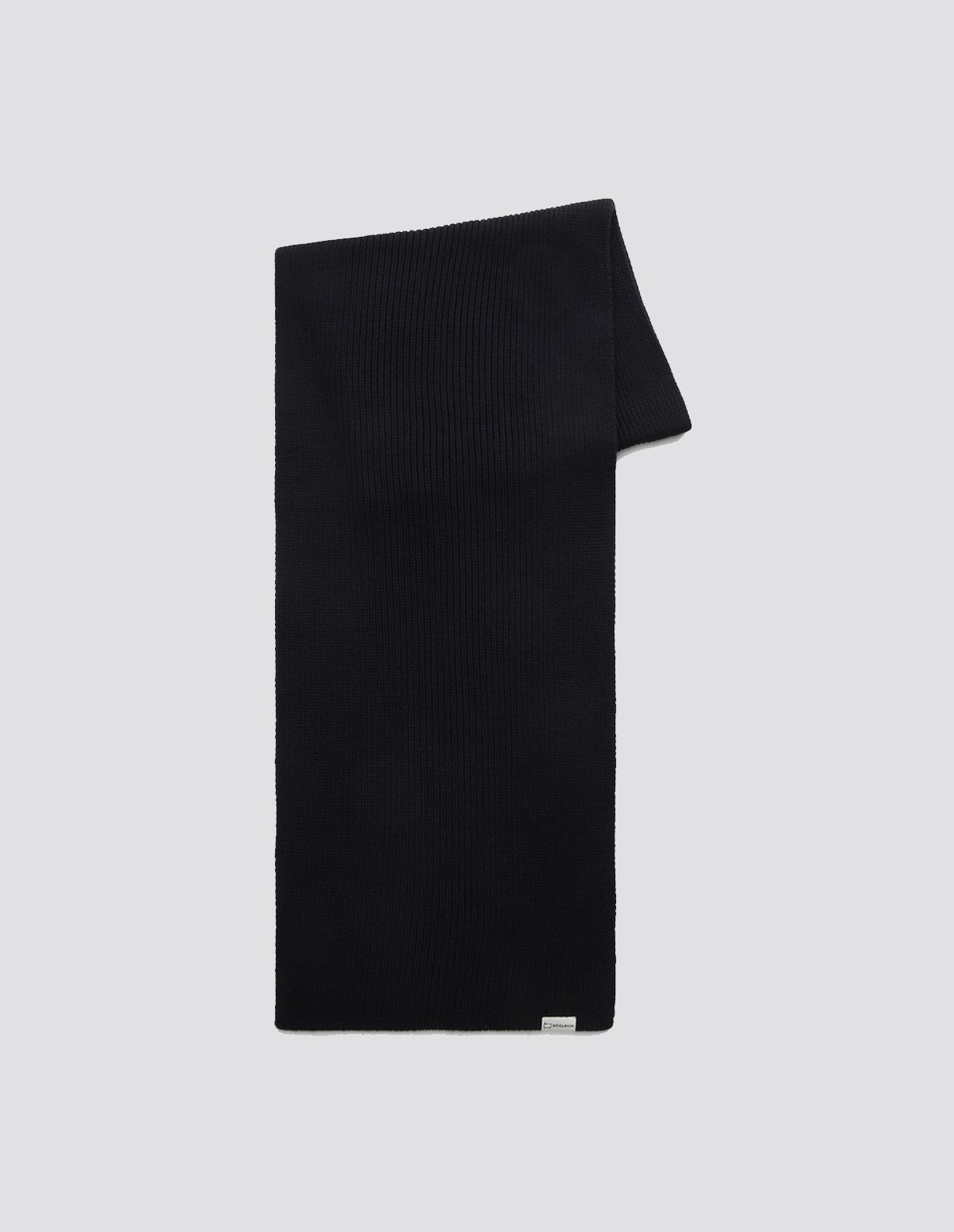 Wr Knitted Solid Scarf - MELTON BLUE