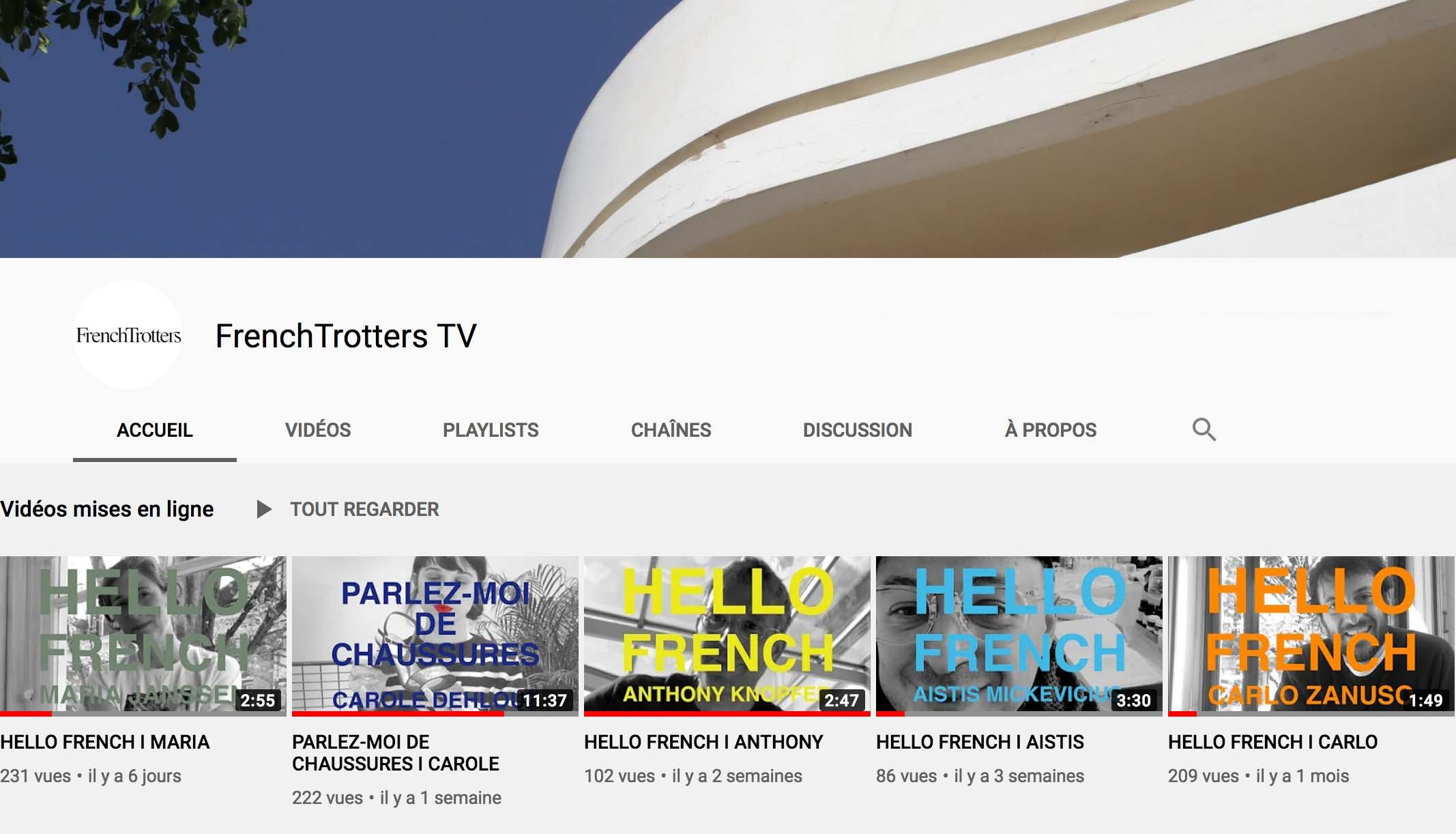 FRENCHTROTTERS TV